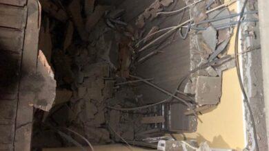 Photo of Crolla il tetto di un edificio: evacuate 10 persone