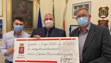 Photo of Emergenza Coronavirus: oltre 24mila euro donati all'ospedale Misericordia