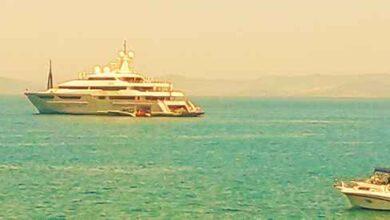 """Photo of """"Azteca"""": il maxiyacht del Berlusconi messicano approda a Monte Argentario"""