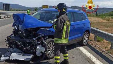 Photo of Incidente sull'Aurelia: auto tampona motrice, chiusa una corsia