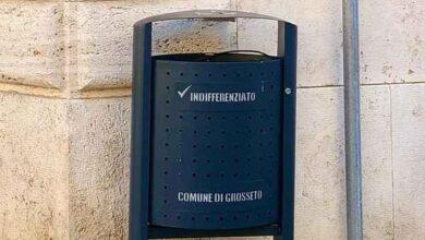 Photo of Nuovi cestini nel centro storico di Grosseto