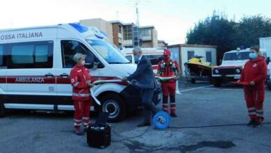 Photo of Una nuova ambulanza per la Croce Rossa. Consegnati gli attestati ai volontari