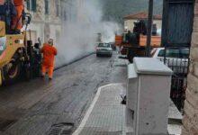 """Photo of Nuova bitumatura sulla strada """"Gavorranese"""": continuano i lavori della Provincia"""