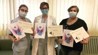Photo of Donne in prima linea contro il Coronavirus: premiate tre professioniste del Misericordia